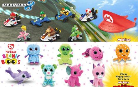 2014 Mario Kart 8/Teenie Beanie Boos promotion toys. Credit: gamespot.com